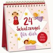Cover-Bild zu 24 Schutzengel für dich - Kleiner Adventskalender zum Aufstellen von Rühmer, Yo (Illustr.)