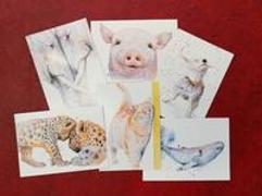 Cover-Bild zu Postkarten-Set Seelentiere