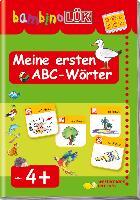 Cover-Bild zu Odersky, Eva: bambinoLÜK Meine ersten ABC-Wörter