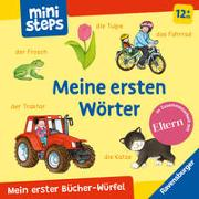 Cover-Bild zu Milk, Ina: Mein erster Bücher-Würfel: Meine ersten Wörter (Bücher-Set)