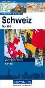 Cover-Bild zu Schweiz Politische Karte 1:275'000. 1:275'000 von Hallwag Kümmerly+Frey AG (Hrsg.)