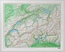 Cover-Bild zu Schweiz mit Kunststoffrelief. 1:500'000 von Hallwag Kümmerly+Frey AG (Hrsg.)
