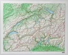 Cover-Bild zu Schweiz Kunststoffrelief. 1:500'000 von Hallwag Kümmerly+Frey AG (Hrsg.)