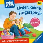Cover-Bild zu Milk, Ina: Mein erster Bücher-Würfel: Lieder, Reime, Fingerpiele (Bücher-Set)