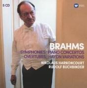 Cover-Bild zu Harnoncourt, Nikolaus: Sinfonien 1-4 (GA)/Klavierkonzerte/Ouvertüren