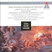 Cover-Bild zu Harnoncourt, Nikolaus: Missa Brevis/Litan