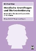 Cover-Bild zu Moralische Grundfragen und Werteorientierung von Röser, Winfried