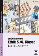 Cover-Bild zu Stationenlernen Ethik 5./6. Klasse (eBook) von Röser, Winfried