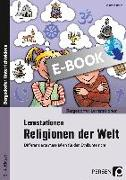 Cover-Bild zu Lernstationen Religionen der Welt (eBook) von Röser, Winfried
