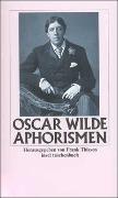 Cover-Bild zu Wilde, Oscar: Aphorismen
