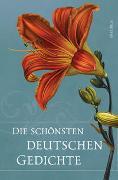 Cover-Bild zu Die schönsten deutschen Gedichte von Moritz, Lukas (Hrsg.)