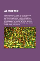 Cover-Bild zu Quelle: Wikipedia (Hrsg.): Alchemie