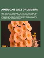 Cover-Bild zu Source: Wikipedia (Hrsg.): American jazz drummers