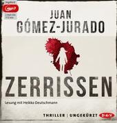 Cover-Bild zu Zerrissen von Gómez-Jurado, Juan