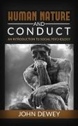 Cover-Bild zu Dewey, John: Human Nature And Conduct (eBook)