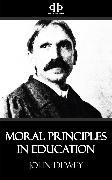 Cover-Bild zu Dewey, John: Moral Principles in Education (eBook)