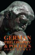 Cover-Bild zu Dewey, John: German Philosophy And Politics (eBook)