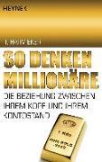 Cover-Bild zu Eker, T. Harv: So denken Millionäre