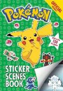 Cover-Bild zu The Official Pokémon Sticker Scenes Book von Pokémon