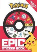 Cover-Bild zu The Official Pokémon Epic Sticker Book von Pokémon