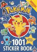 Cover-Bild zu The Official Pokémon 1001 Sticker Book von Pokémon