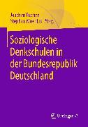 Cover-Bild zu Moebius, Stephan (Hrsg.): Soziologische Denkschulen in der Bundesrepublik Deutschland (eBook)