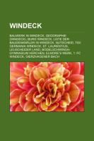 Cover-Bild zu Quelle: Wikipedia (Hrsg.): Windeck