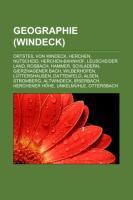 Cover-Bild zu Quelle: Wikipedia (Hrsg.): Geographie (Windeck)