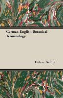 Cover-Bild zu Ashby, Helen.: German-English Botanical Terminology