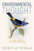 Cover-Bild zu Environmental Thought von Attfield, Robin