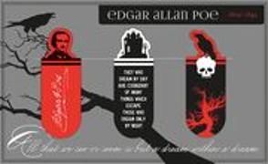 Cover-Bild zu libri_x Magnetlesezeichen Edgar Allan Poe