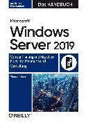 Cover-Bild zu eBook Microsoft Windows Server 2019 - Das Handbuch