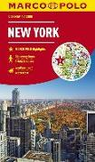 Cover-Bild zu MARCO POLO Cityplan New York 1:12 000. 1:15'000