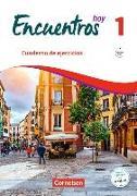 Cover-Bild zu Encuentros Hoy 1. Cuaderno de ejercicios mit Audios online