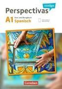 Cover-Bild zu Perspectivas contigo A1. Kurs- und Übungsbuch mit Vokabeltaschenbuch