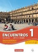 Cover-Bild zu Encuentros 1. Edición 3000. Klassenarbeitstrainer / Schulaufgabentrainer für Schülerinnen und Schüler