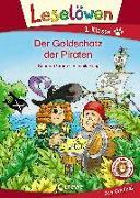 Cover-Bild zu Leselöwen 1. Klasse - Der Goldschatz der Piraten von Grimm, Sandra