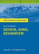 Cover-Bild zu Erpenbeck, Jenny: Gehen, ging, gegangen. Königs Erläuterungen (eBook)