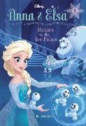 Cover-Bild zu Anna & Elsa #8: Return to the Ice Palace (Disney Frozen) von David, Erica