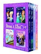 Cover-Bild zu Anna & Elsa: Books 1-4 (Disney Frozen) von David, Erica