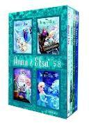 Cover-Bild zu Anna & Elsa: Books 5-8 (Disney Frozen) von David, Erica
