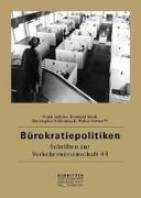 Cover-Bild zu Jödicke, Frank (Hrsg.): Bürokratiepolitiken