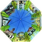 Cover-Bild zu Hallwag Taschenschirm Basel, Aquarell