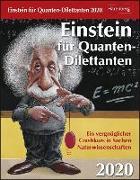Cover-Bild zu Einstein für Quanten-Dilettanten Kalender 2020