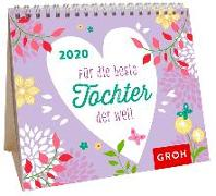 Cover-Bild zu für die beste Tochter der Welt 2020: Mini-Monatskalender