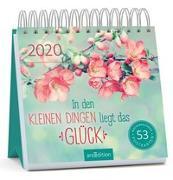 Cover-Bild zu Postkartenkalender In den kleinen Dingen liegt das Glück 2020 - Wochenkalender mit abtrennbaren Postkarten