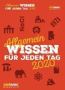 Cover-Bild zu Allgemeinwissen für jeden Tag 2020 Tagesabreißkalender