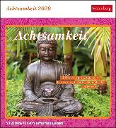 Cover-Bild zu Achtsamkeit Kalender 2020