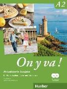 Cover-Bild zu On y va ! A2. Aktualisierte Ausgabe. Lehr- und Arbeitsbuch mit komplettem Audiomaterial
