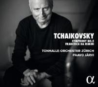 Cover-Bild zu Peter I. Tschaikowsky: Sinfonie Nr. 5; Francesca da Rimini von Tschaikowsky, Peter I. (Komponist)